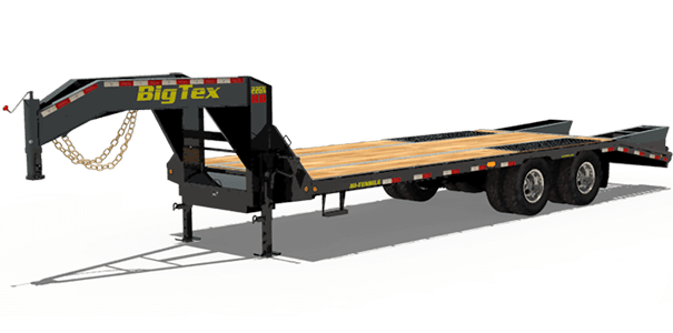 Big Tex 22k GVW  Goose Neck trailer.