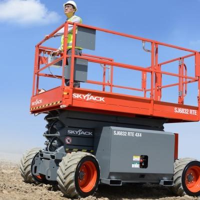 Skyjack SJ6832 R.T. Scissor lift.