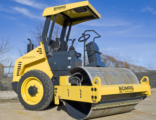 Bomag 4 ton Roller