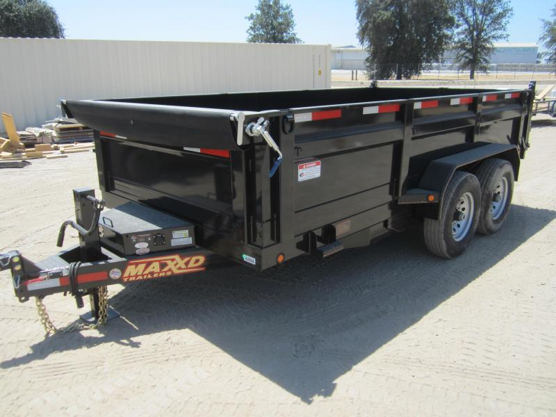 MaxXd 14 ft Dump Trailer