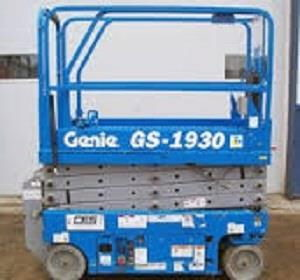 Genie GS-1930 Scizssor lift.